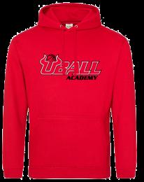 UBALL College Hoodie Red