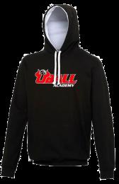 UBALL Varsity Hoodie zwart/wit