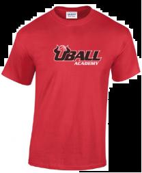 Heavy cotton UBALL T-shirt RED