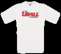 Heavy cotton UBALL T-shirt White