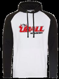 UBALL Basketball Hoodie White/Black