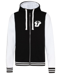 UBALL Urban varsity zoodie Black/White