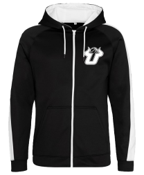 UBALL Sports polyester zoodie Black/White