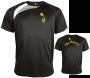 Short sleeve tafeltennis-shirt Black