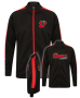 UBALL Knitted tracksuit Top Black/Red